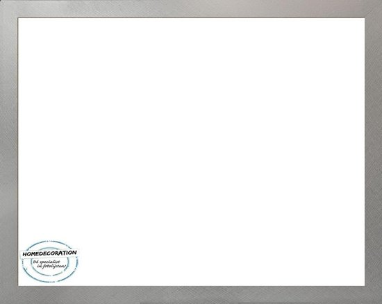 Homedecoration Misano – Fotolijst – Fotomaat – 54 x 71 cm  – Aluminium geborsteld