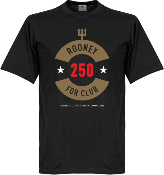 Rooney 250 Goals Manchester United T-Shirt - XXL