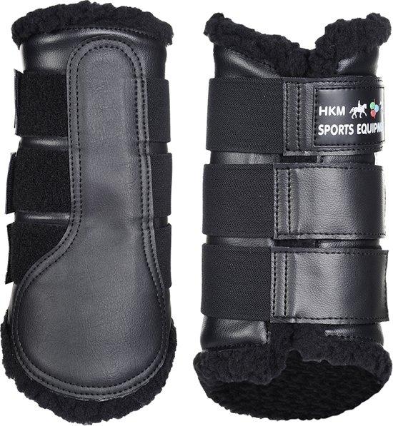 Beenbeschermers -Comfort- zwart/zwart M