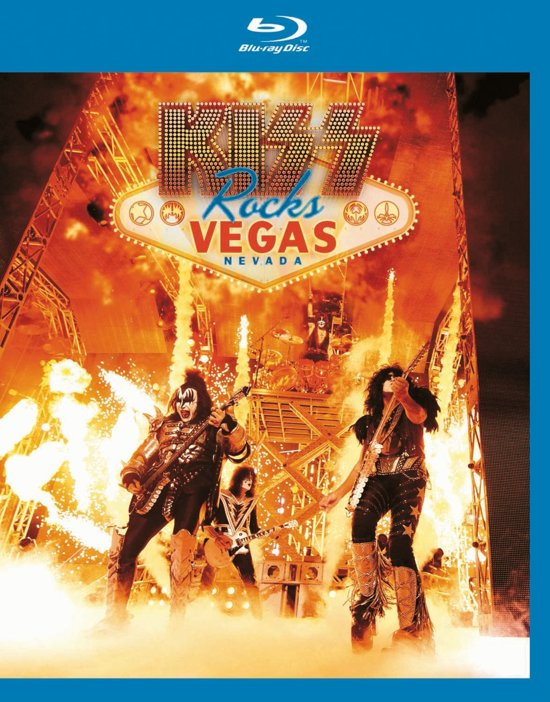 Kiss Rocks Vegas - Live At The Hard Rock Hotel (Blu-ray)