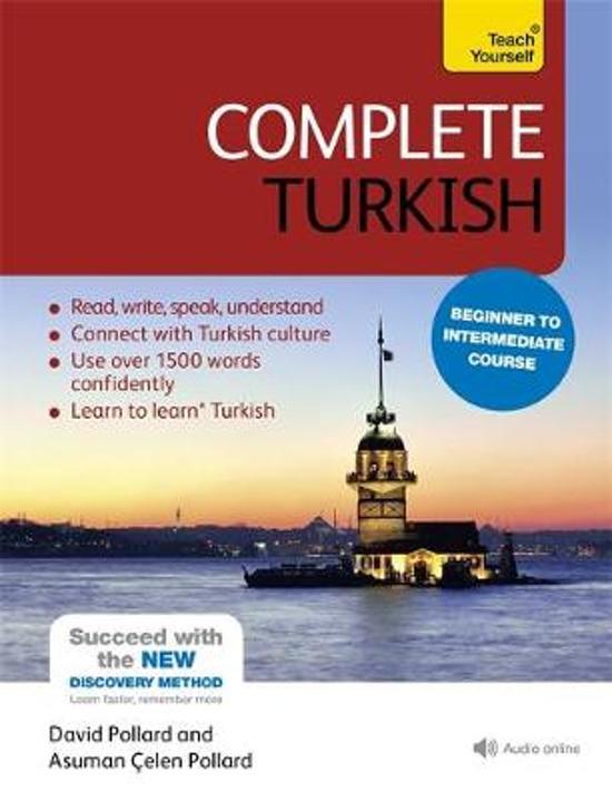 Boek cover Complete Turkish Beginner to Intermediate Course van Asuman Celen Pollard (Paperback)