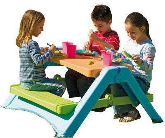 Kinder Picknicktafel Kunststof.Bol Com Picknicktafel Inklapbaar Palplay Speelgoed