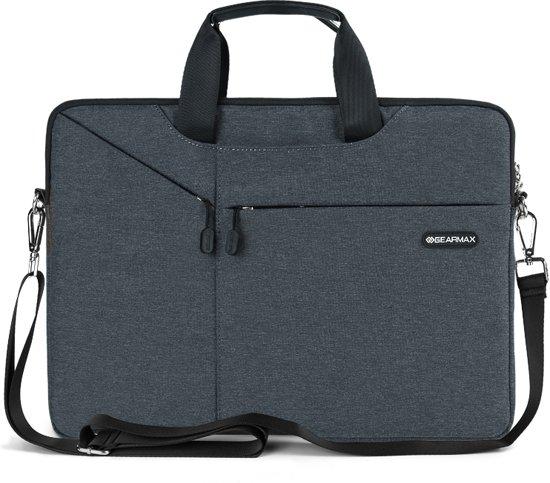 3 Gent Laptop Inch Brief Sleeve Tas Grijs 13 80wOnkP