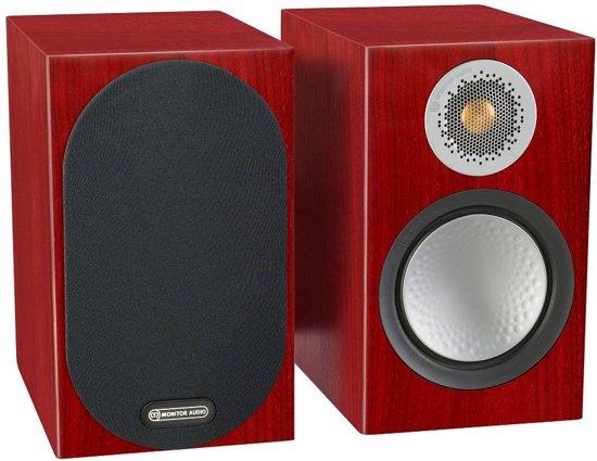 Monitor Audio Silver 50 - Boekenplank Speaker - Rood (Prijs Per Paar)