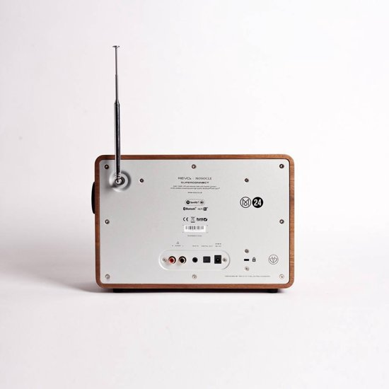 FonQ SuperConnect - DAB+ - internet radio en Spotify - Wit