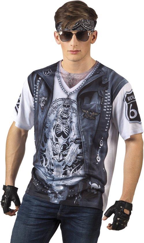 St. Fotorealistisch shirt Rider (L)