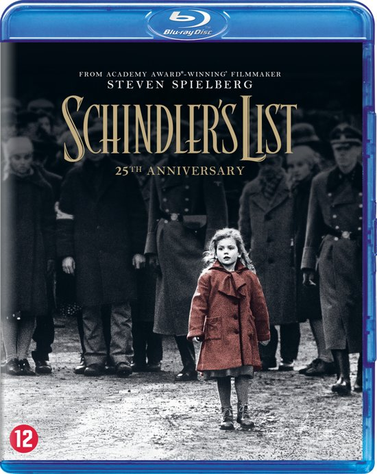DVD cover van Schindlers List  19(25th Anniversary)(Blu-ray)