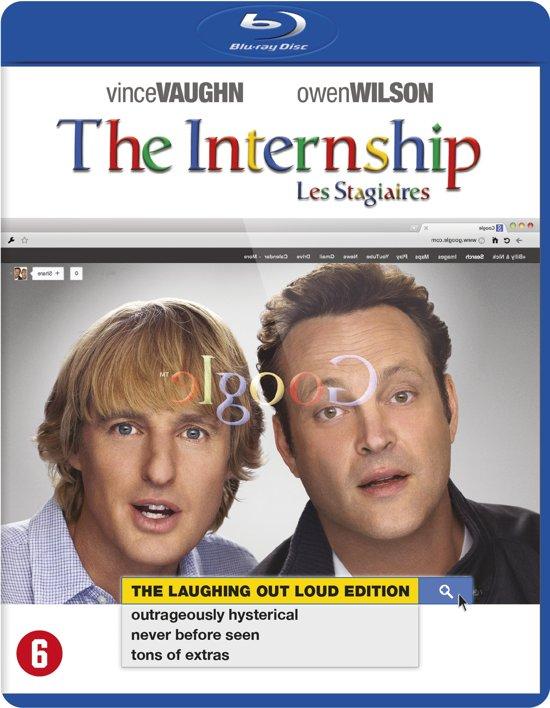 DVD cover van The Internship (Blu-ray)