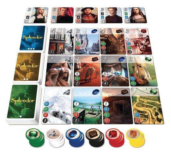 Thumbnail van een extra afbeelding van het spel Splendor NL