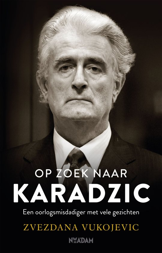 Boek cover Op zoek naar Karadzic van Zvezdana Vukojevic (Onbekend)