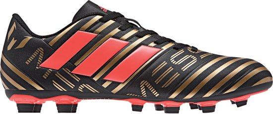 the latest 962d4 82142 adidas Nemeziz Messi 17.4 FxG Voetbalschoenen - Maat 40 - Mannen -  zwartgoud