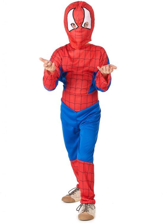 Verkleedkostuum spinnen man voor jongens - Verkleedkleding - Maat 104/116