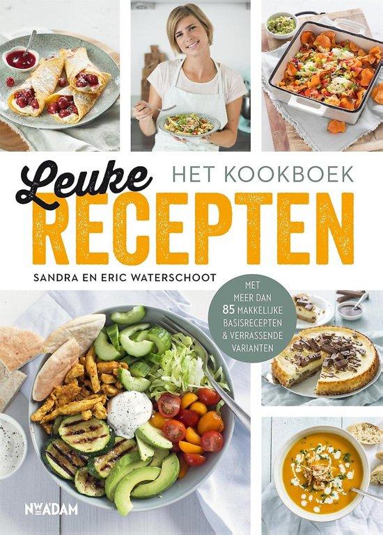 Boek cover Leuke Recepten - het kookboek van Sandra Waterschoot (Hardcover)