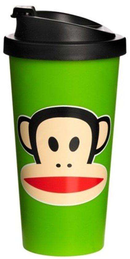 Paul Frank Drinkbeker - To Go - Incl Deksel - 500 ml - Groen
