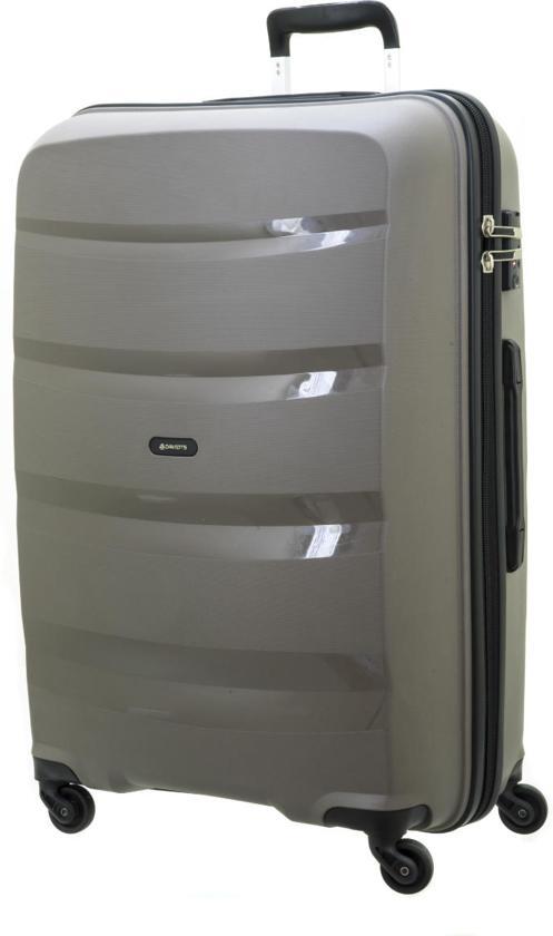 Davidt's Horizontal - Koffer - Large - Spinner 74 cm - warm grey