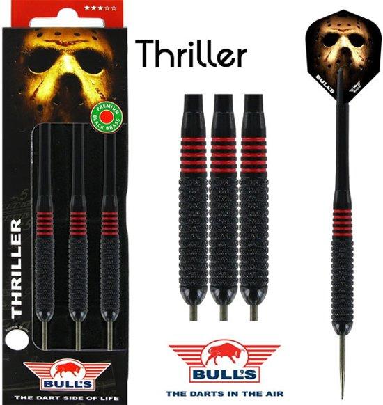 BULL'S Thriller Black Brass dartpijlen - 22 gram