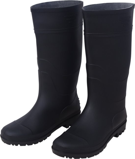 Vidaxl Regenlaarzen 39 Unisex Zwart Maat gfgqU74nwP