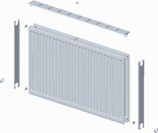 Stelrad paneelradiator Compact All In, staal, wit, (hxlxd) 500x1000x77mm, 21