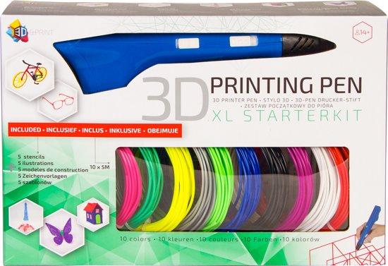 3D Pen XL Starterspakket |Blauw| - 3Dandprint