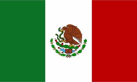 Vlag Mexico - mexicaanse vlag 150x90cm