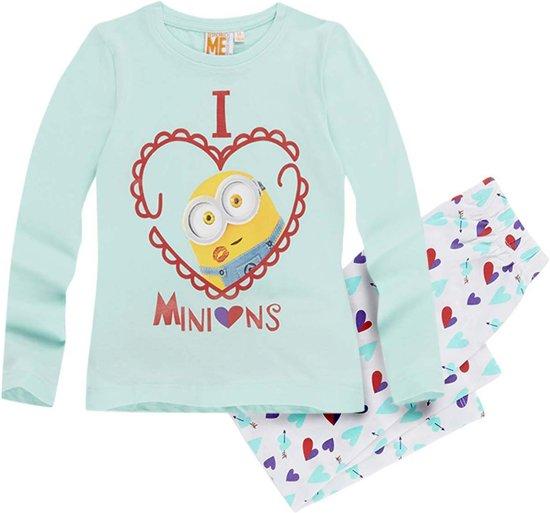 Minions-Pyjama-blauw-maat-140