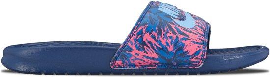 Nike Benassi Jdi Pantoufles Bleu 7RFHx