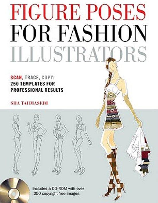 Bol Com Figure Poses For Fashion Illustrators 9781438070490 Sha Tahmasebi Boeken