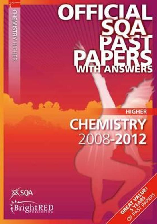 Chemistry Higher SQA Past Papers