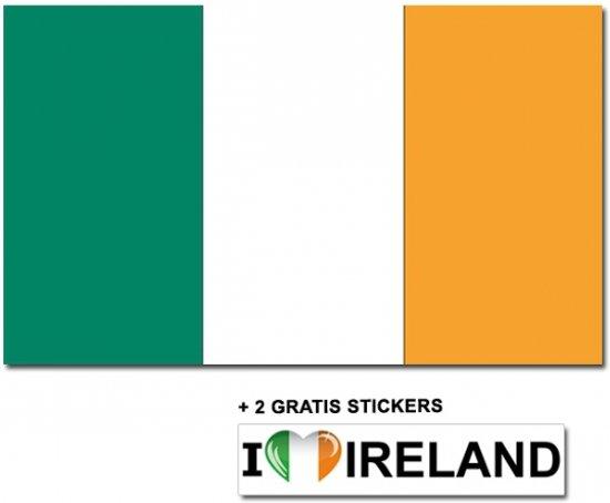 bol | ierse vlag met 2 gratis ierland stickers