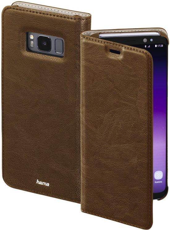 Garde Cas De Livret Marron Pour Samsung Galaxy S8, Plus