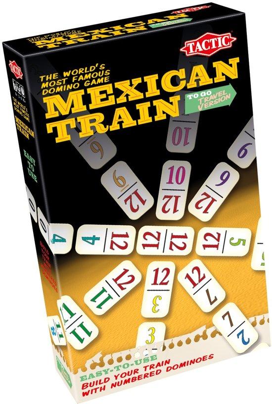 Afbeelding van het spel Tactic Gezelschapsspel Mexican Train Reisversie
