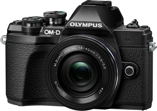 Olympus OM-D E-M10 Mark III - Zwart + EZ-M14-42EZ