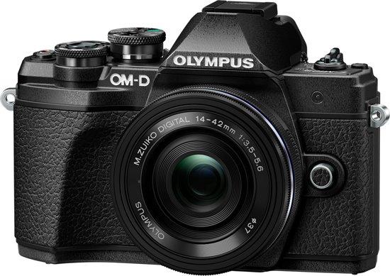 Olympus OM-D E-M10 Mark III - Zwart + M.Zuiko ED 14-42mm (Zwart)