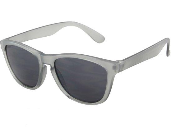 8d1716446035fa Zonnebril Kinderen Wayfarer - UV 400 bescherming Cat. 3 - Glazen 50mm -  Grijs -