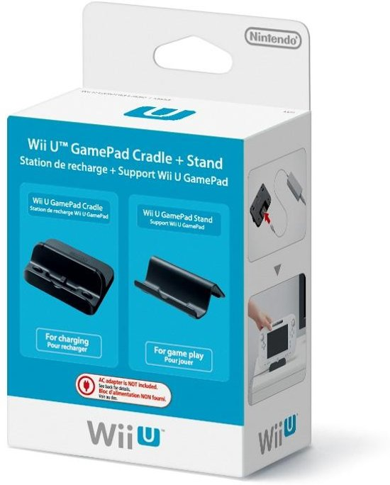 Nintendo Docking Station + Steun Gamepad Wii U