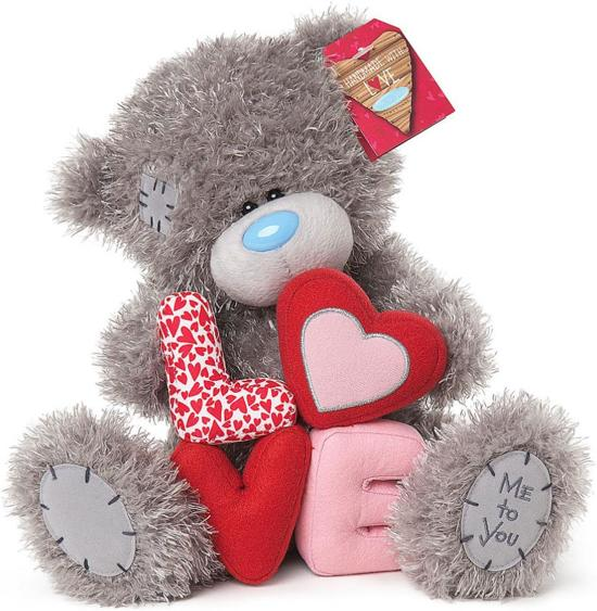 Betere bol.com | Me To You Love You Knuffel 19 Cm Beertje Met Hart, Me To NS-75