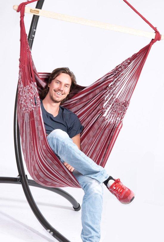 Hangstoel 'Comfort' bordeaux
