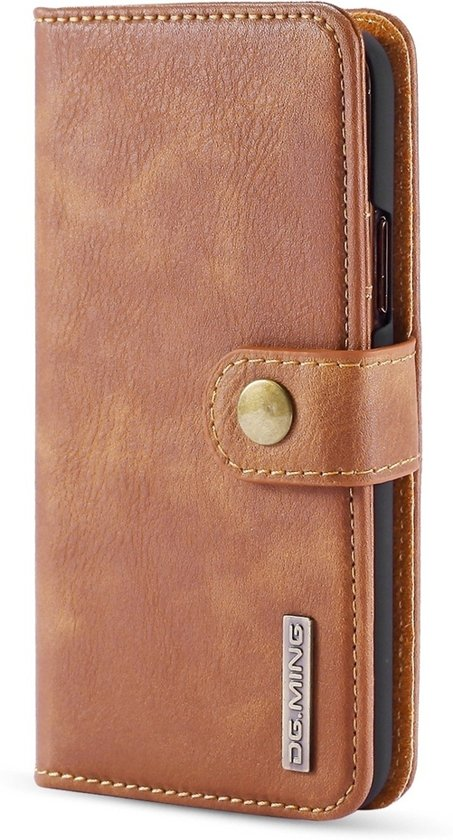 Mobigear Detachable Leather Wallet Hoesje Bruin Apple iPhone 11 Pro Max