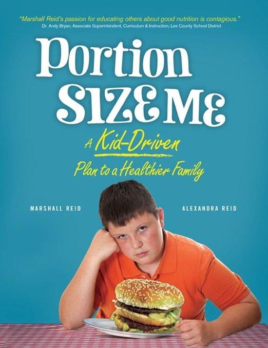 Boek cover Portion Size Me van Marshall Reid (Onbekend)