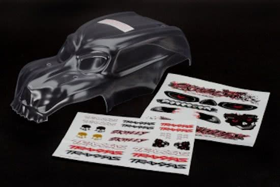 Traxxas Skully body clear