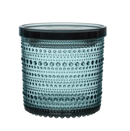 Iittala Kastehelmi Voorraadpot - 116 x 114mm - Zeeblauw