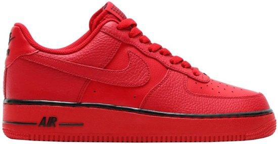 huge discount aadb0 492ad Nike Sneakers Air Force 1 Heren Rood Maat 44