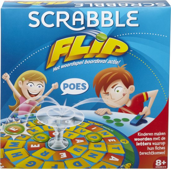 SCRABBLE FLIP DUTCH