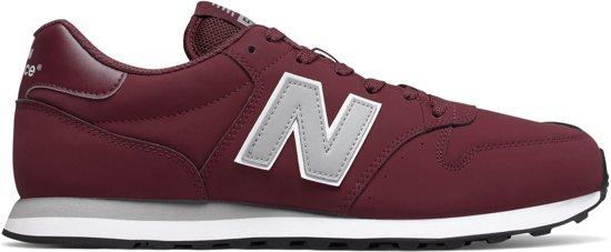 90058e4a5d5 New Balance GM500 Sneaker Heren Sneakers - Maat 42 - Mannen - rood/grijs/