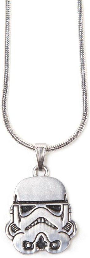 Star Wars - Stormtrooper Helm Silver Necklace