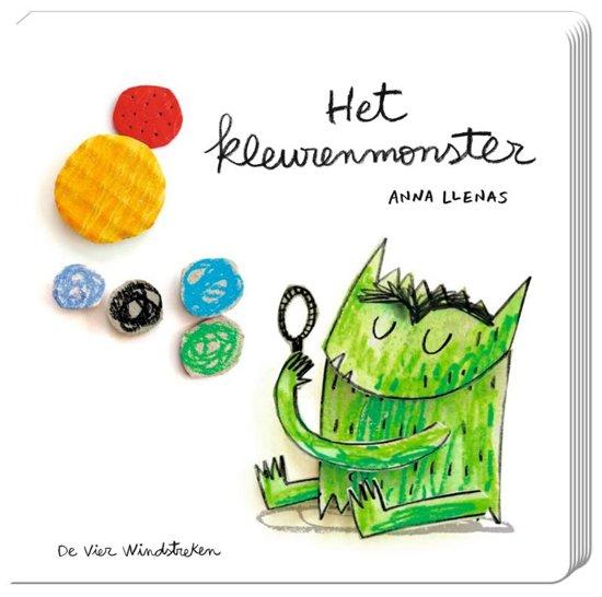 Boek cover Het kleurenmonster van Anna Llenas (Hardcover)