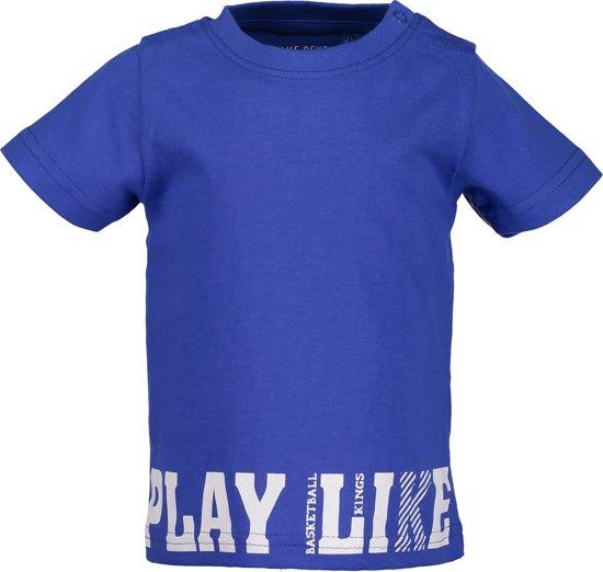 31bf6787e72af0 bol.com | Blue Seven Jongens T-shirt - kobalt blauw - Maat 80