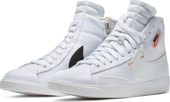 Nike Blazer Mid Rebel Sneakers Dames - White ... - bol.com