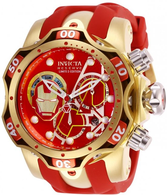 Invicta Marvel - Ironman 27176 Herenhorloge - 52mm