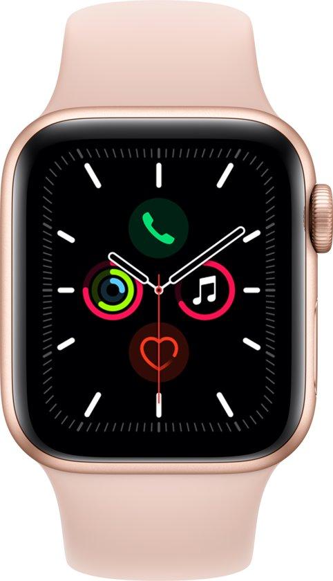 Apple Watch Series 5 - 44 mm - Roze